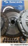 SKODA OCTAVIA 150 1.8T 4X4 2001 ONWARDS DUAL TO SMF FLYWHEEL + SACHS CLUTCH KIT